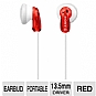 Alternate view 1 for Sony MDRE9LP/RED Fashion Earbud Headphones
