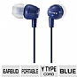 Alternate view 1 for Sony MDREX10LP/DKBLU Fashion Earbud Headphones
