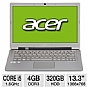 Alternate view 1 for Acer Core i5 320GB + 20GB SSD Ultrabook