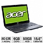 "Alternate view 1 for Acer Aspire A6 6GB 15.6"" Refurbished Notebook PC"