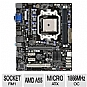 Alternate view 1 for ECS A55F-M2 AMD Hudson FM1 Motherboard
