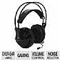 SteelSeries 51103 Siberia V2 Full-Size Headset - USB 7.1 Virtual Surround Soundcard, 50mm Drivers, Retractable Microphone, Leather Padded Ear Cushions, In-Line Volume Control, Black