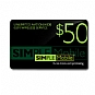 Alternate view 1 for Simple Mobile $50 Airtime Card 