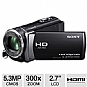 Alternate view 1 for Sony HDR-CX200 Full HD Digital Camcorder