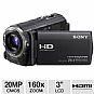 Alternate view 1 for Sony HDR-CX580V Handycam HD Digital Camcorder