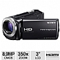 Alternate view 1 for Sony HDR-CX260V/B Handycam HD Digital Camcorder