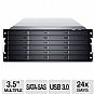 Alternate view 1 for Sans Digital EliteSTOR 4U 24-Bay Rackmount