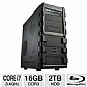 Alternate view 1 for SYX SG-130 Gaming PC - INTEL CORE i7, DUAL  REFURB