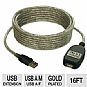 Alternate view 1 for Tripp-Lite 16ft USB 2.0 Active Extension Cable