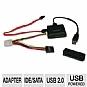 Alternate view 1 for Tripp-Lite USB 2.0 to SATA / IDE Combo Adapter 