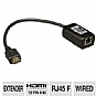 Alternate view 1 for Tripp Lite B126-1P0 HDMI Video/audio Extender 