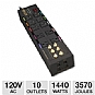 Alternate view 1 for Tripp Lite HT10DBS Surge Suppressor