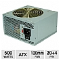 Coolmax / V-500 / 500-Watt / ATX / 120mm Fan / SATA-Ready / 20/24 Pin / Power Supply