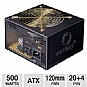 Alternate view 1 for Coolmax 500W ATX Power Supply