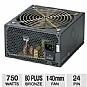 Alternate view 1 for Coolmax 750W ZP Series 80 Plus Bronze PSU