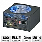 Alternate view 1 for Coolmax 600W CL Series Blue LED PSU
