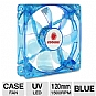 Coolmax CMF-1225-BL 120mm UV LED Cooling Case Fan - Blue