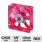 Alternate view 1 for Coolmax CMF-1225-RD 120mm UV LED Cooling Case Fan