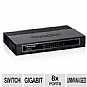 Alternate view 1 for TP-Link 8 Port Gigabit Desktop Unmanaged Switch