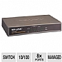 Alternate view 1 for TP-Link 8-port 10/100M Desktop PoE Switch