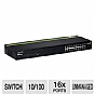 TRENDnet TE100-S16G 16 Port GREENnet Switch