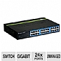 Alternate view 1 for TRENDnet 24 Port Gigabit GREENnet Switch