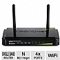Trendnet TEW-731BR 300 Mbps Wireless-N Home Router - 300 Mbps, Wireless-N, 4x 10/100Mbps, 1x 10/100Mbps, 2.412-2.484GHz, 2x 2dBi fixed dipole antennas  - TEW-731BR