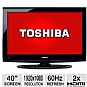 Alternate view 1 for Toshiba 40&quot; 1080p 60Hz  LCD HDTV