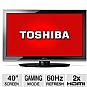 "Alternate view 1 for Toshiba 40E220U 40"" 1080p 60Hz LCD HDTV"