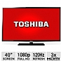 "Alternate view 1 for Toshiba 40"" Class LED HDTV  REFURB"