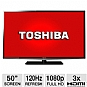 "Alternate view 1 for Toshiba 50"" 1080p 120Hz LED HDTV"
