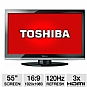 "Alternate view 1 for Toshiba 55G310U 55"" 1080p 120Hz  LCD HDTV"