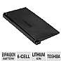 Alternate view 1 for Toshiba Slice Expansion Li-Ion Laptop Battery