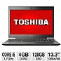 Alternate view 1 for Toshiba 13.3 Core i5 128GB Windows 7 Pro Ultrabook
