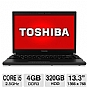 "Alternate view 1 for Toshiba 13.3"" Core i5 320GB HDD Notebook PC"
