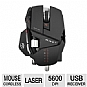 Alternate view 1 for Cyborg R.A.T. 9 Wireless Gaming Mouse