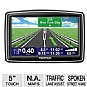 TomTom XXL540S Auto GPS - 5&quot; Widescreen Display, Text to Speech, Lane Guidance, North America Maps, Fold & Go EasyPort mount - Refurbished
