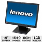 "Alternate view 1 for Lenovo ThinkVision L197w 19"" LCD HD Monitor"