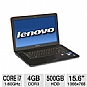 "Alternate view 1 for Lenovo IdeaPad Y560 15.6"" 3D-Ready Notebook REFURB"