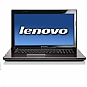 "Alternate view 1 for Lenovo Essential G770 17.3"" Notebook REFURB"