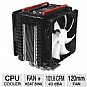 "Thermaltake CLP0564 Frio Dual 120mm Universal CPU Cooler - LGA1366, LGA1156, LGA775, LGA2011, AM3, AM2+, AM2. ""Received The Overclockers Tech Gold Award"""