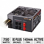 Alternate view 1 for Thermaltake 750W Modular 80+ Bronze PSU