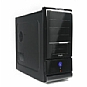 Thermaltake WingRS 100 ATX Piano-Black Mid-Tower Case with Front USB and Audio ports