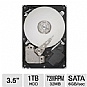Alternate view 1 for Seagate 1TB Barracuda SATA-6G Hard Drive