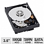 WD Blue 3.5&quot; SATA 500GB Desktop Hard Drive Bundle