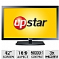 "Alternate view 1 for UpStar P42EWT 42"" 1080p 60Hz LED HDTV"