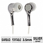 Alternate view 1 for Ultra Carbon 2.0 Noise Isolating Earbuds (Silver)