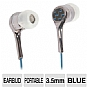 Alternate view 1 for Ultra Carbon 2.0 Noise Isolating Earbuds (Blue)