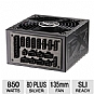 Ultra X4 Modular 850-Watt ATX Power Supply V2 - 850W, 135mm Fan, ATX, 80+ Silver, Active PFC, Nvidia SLI, ATI Crossfire X, Vibration Dampener Included, Lifetime Warranty with Registration