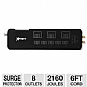 Alternate view 1 for Xfinity 8 Outlet Home Theater Surge Protector